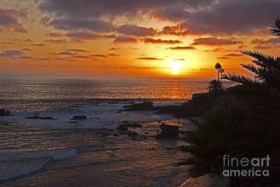 Photograph - Seaside Sunset by Kelly Holm