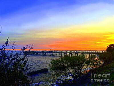 Photograph - Seaside Sunset by Shelia Kempf
