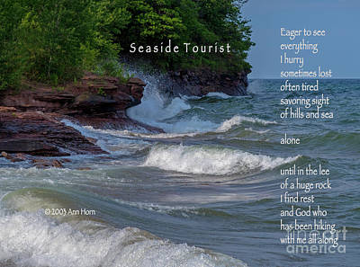Photograph - Seaside Tourist by Ann Horn
