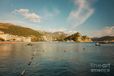 Photograph - Seaside Town Of Petrovac by Sophie McAulay