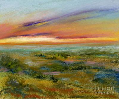 Seaside Vista Art Print by Addie Hocynec