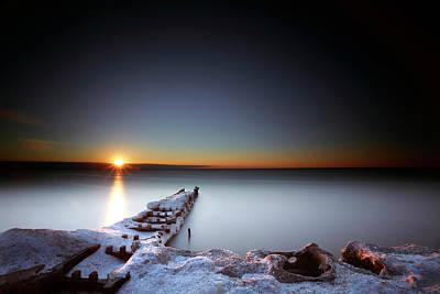 Photograph - Season Ending by CA Johnson