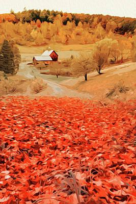 Painting - Season Of Emotions by Andrea Mazzocchetti