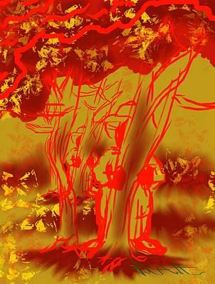 Digital Art - Seasonal Mystery by Robert Watson