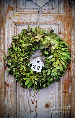 Granger Royalty Free Images - Seasonal Plant Decoration Royalty-Free Image by Ariadna De Raadt