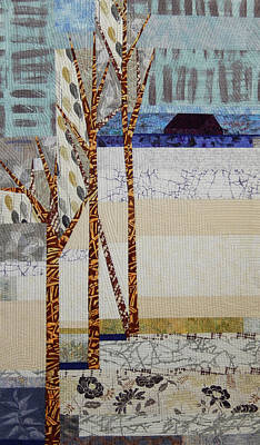 Tapestry - Textile - Seasonal Remembrance by Linda Beach
