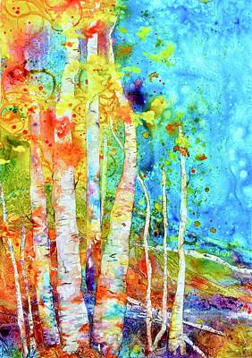 Painting - Seasonal Stream Of Consciousness by Beverley Harper Tinsley