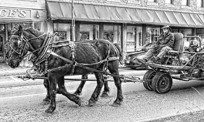 Photograph - Seasonal Wagon Ride by Marcia Lee Jones