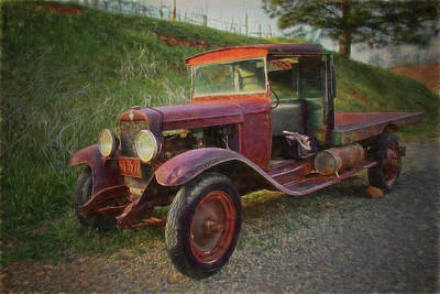 Photograph - Seasoned Ol' Truck by Wes Jimerson