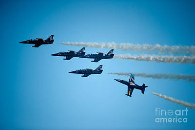 Photograph - Seasoned Pilots Perform by Wayne Wilton