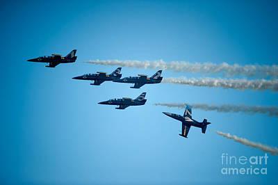 Photograph - Seasoned Pilots Perform by Wayne Wilton