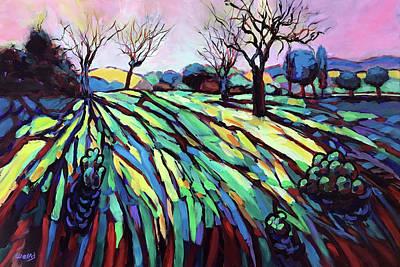 Wall Art - Painting - Seasons Change by Charles Wallis