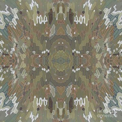 Juul Painting - Seasons- Fall Mandala by Margaret Juul