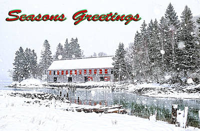 Photograph - Seasons Greetings 1 by Marty Saccone