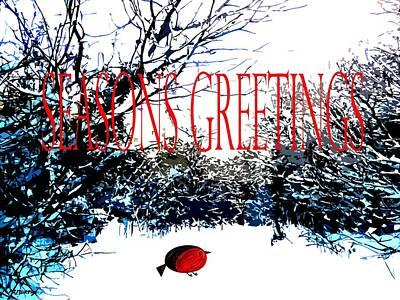 Seasons Greetings 1 Art Print by Patrick J Murphy