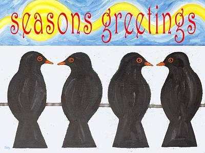 Seasons Greetings 109 Art Print by Patrick J Murphy