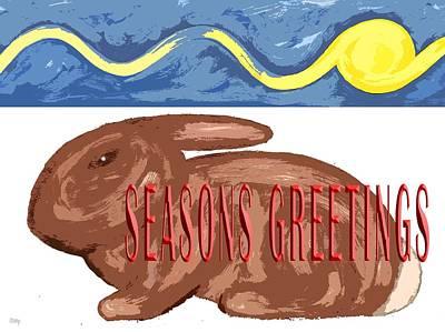 Seasons Greetings 110 Art Print by Patrick J Murphy