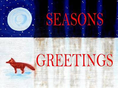 Seasons Greetings 13 Art Print by Patrick J Murphy