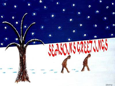 Seasons Painting - Seasons Greetings 3 by Patrick J Murphy