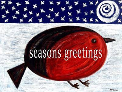 Seasons Greetings 4 Art Print by Patrick J Murphy