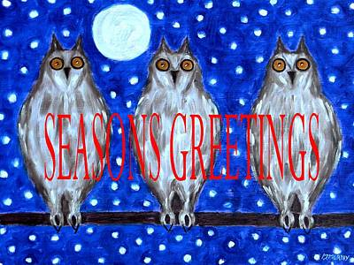 Seasons Greetings 79 Art Print by Patrick J Murphy