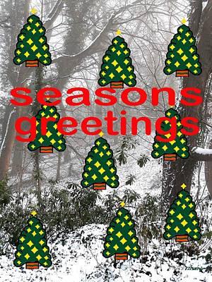 Seasons Greetings 8 Art Print by Patrick J Murphy