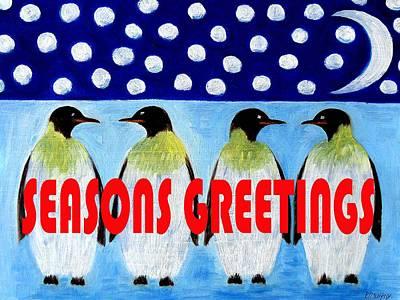 Seasons Greetings 9 Art Print by Patrick J Murphy