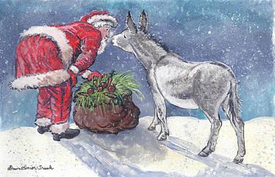 Painting - Season's Greetings by Dawn Senior-Trask