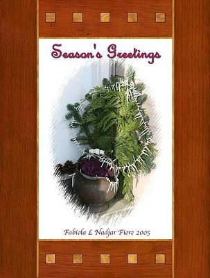Cabbage Mixed Media - Season's Greetings by Fabiola L Nadjar Fiore