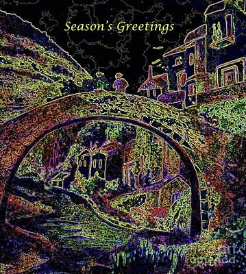 Painting - Season's Greetings by Hazel Holland