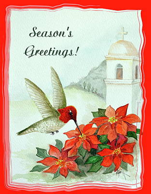 Painting - Season's Greetings by Marilyn Smith