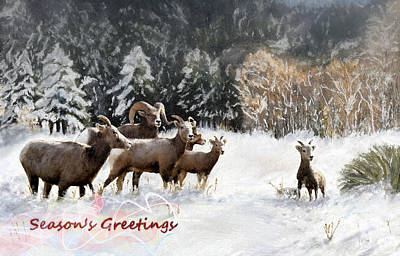 Painting - Season's Greetings  by Susan Kinney