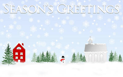 Digital Art - Season's Greetings by Trudy Wilkerson