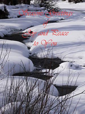 Seasons Of Joy And Peace Art Print
