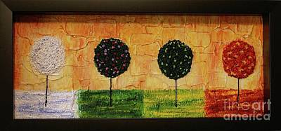 Seasons Of Love Print by Jane Chesnut