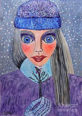 Painting - Seasons. Winter Wonder by Caroline Street