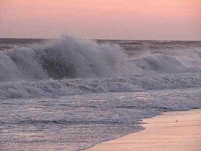 Photograph - Seaspray by SJ Lindahl