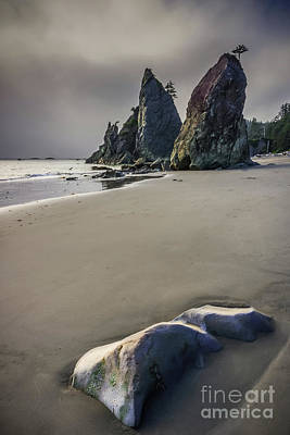 Photograph - Seastacks At Rialto Beach by Carrie Cole