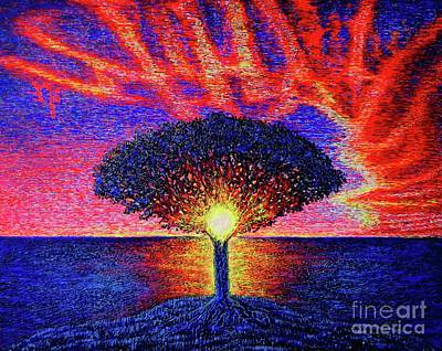 Painting - Sea.sunrise by Viktor Lazarev
