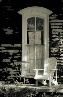 Photograph - Seat On The Front Porch by Scott Kingery