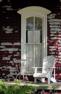 Photograph - Seat On The Porch by Scott Kingery