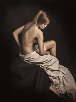 Nudes Painting - Seated Beauty by Robert Sharp