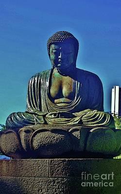Photograph - Seated Buddha by Craig Wood