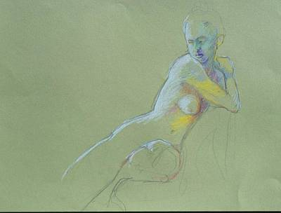Painting - Seated Study by Barbara Pease