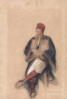 Painting - Seated Turk by Celestial Images