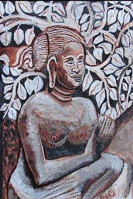 Painting - Seated Women In Javanse Manner by Anand Swaroop Manchiraju