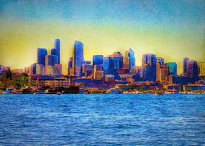 Photograph - Seattle Washington by Anne Sands