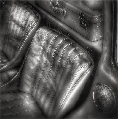 Photograph - Seats Of A Mercedes 300 Sl by Dirk Jung