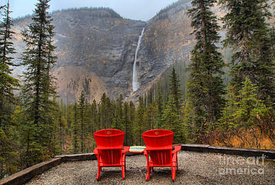 Photograph - Seats With A View by Adam Jewell