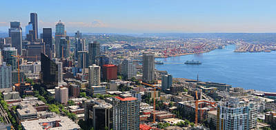 Photograph - Seattle  2533 Crop by Jack Schultz